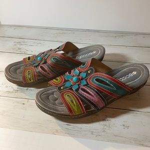 Socofy Sandals size 41/ 10.5 US